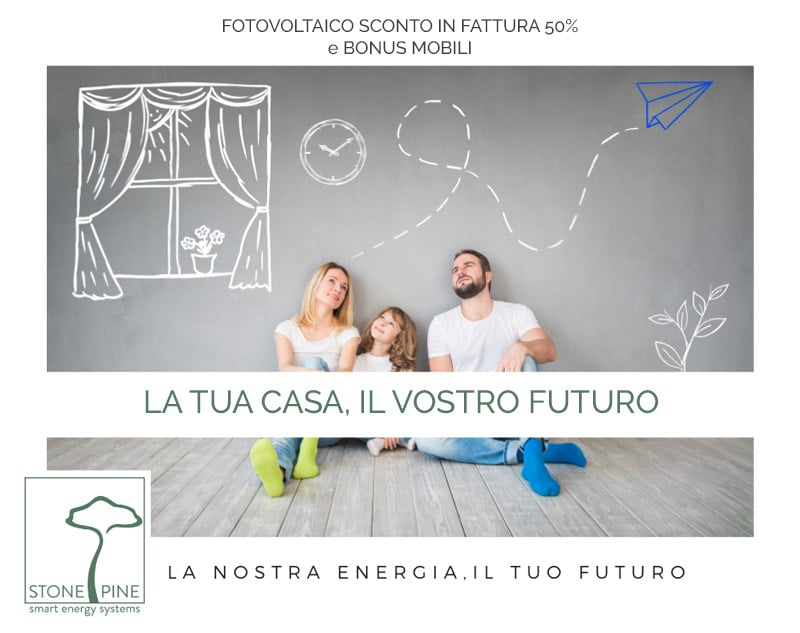 fotovoltaico bonus mobili